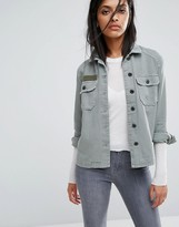 AllSaints Jemma Military Shirt Jacket