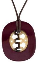 Hermes Lift PM Horn Pendant Necklace