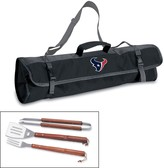 Picnic Time Houston Texans 4-pc. Barbecue Tote Set