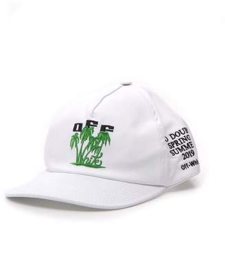 Off-White Off White Palm Embroidered Basbeball Cap