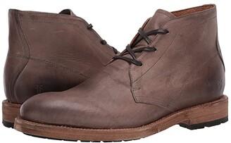 Frye Bowery Chukka (Tan Oiled Vintage) Men's Shoes