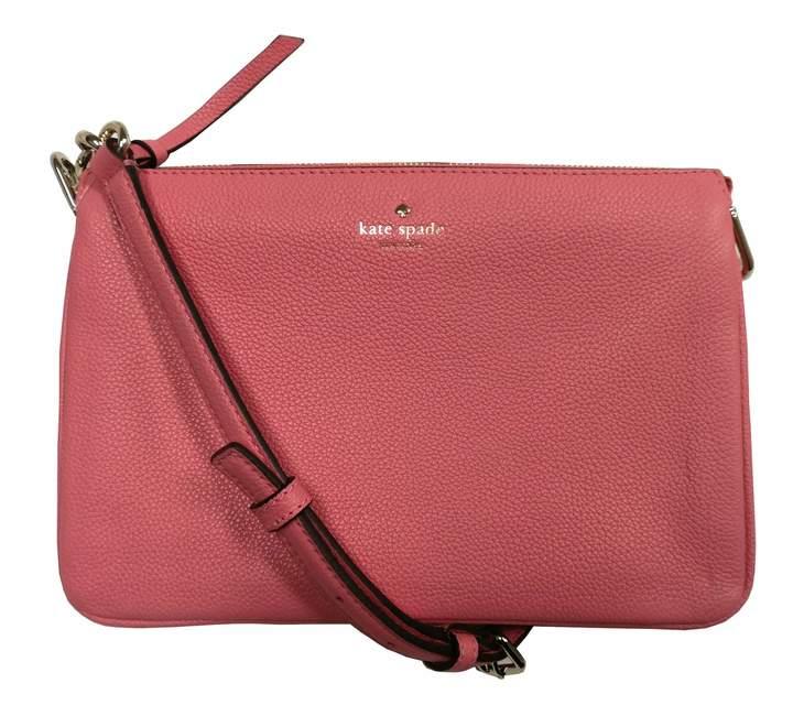 Kate Spade Madelyne Larchmont Avenue Pebbled Leather Crossbody Bag