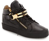 Giuseppe Zanotti Men's Side Zip High Top Sneaker