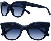 Lauren Conrad 49mm Owl Cat-Eye Gradient Sunglasses