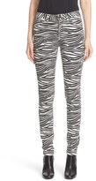 Saint Laurent Tiger Print Skinny Jeans