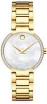 Movado Modern Classic Diamond Watch