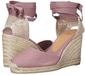 Castaner Carina 80 Wedge Espadrille (Malva 1) Women's Shoes