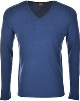 BOSS ORANGE HUGO Kameross Jumper Blue