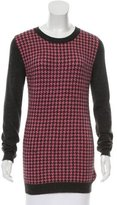 Roland Mouret Houndstooth Cashmere Sweater