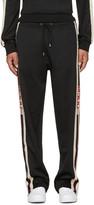 Gucci Black Logo Tape Track Pants