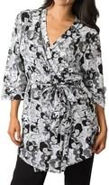 Soybu Spa Zen Stretch-Jersey Robe - 3/4 Sleeve (For Women)