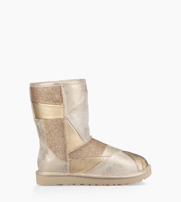 8f1c1423c12 Classic Glitter Patchwork Boot