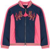 Billieblush Zip sweatshirt with fancy patches