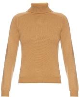 Saint Laurent Roll-neck cashmere sweater