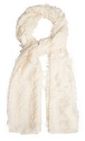 Chloé Fil coupé wool and silk-blend scarf