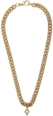 Marcelo Burlon County of Milan Gold Cross Necklace