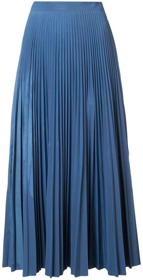 Maison Margiela pleated maxi skirt