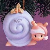 Precious Moments Slow Down For The Holidays Dated 1997 Ornament