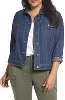 Sejour Plus Size Women's Denim Jacket