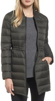 MICHAEL Michael Kors Petite Women's Packable Knit Trim Anorak