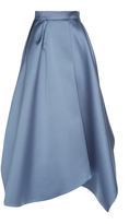 Dice Kayek Asymmetrical Midi Skirt