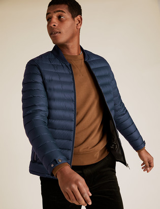 Marks and Spencer Down and Feather Bomber with Stormwear