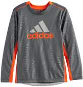 adidas Boys 4-7x Mesh High Low Tee