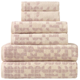 Geo Turkish Towel Set (6 PC)