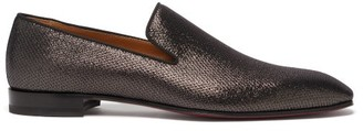 Christian Louboutin Dandelion Metallic Loafers - Black