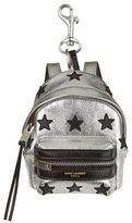 Saint Laurent Mini Metallic Backpack Keyring