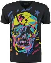 Kaporal Dasha Print Tshirt Black