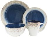 Jay Import Blue Granada 16-Piece Dinnerware Set