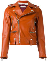 Golden Goose Deluxe Brand Dabon biker jacket - women - Calf Leather/Cupro/Viscose - S