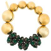 Marni embellished cluster bracelet