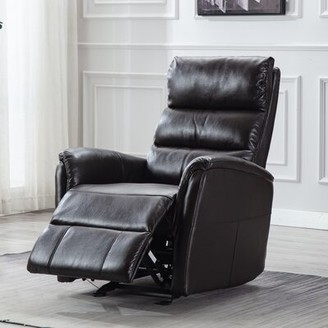 Red Barrel Studio Allauddin Faux Leather Manual Recliner