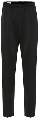 Dries Van Noten Straight-leg crepe pants