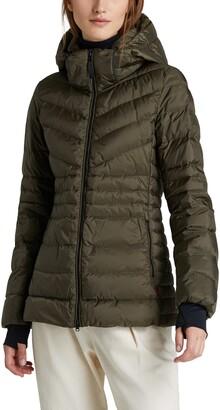 Woolrich Tech Windproof & Waterproof Hooded Puffer Jacket