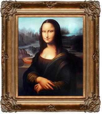 Leonardo Overstock Art La Pastiche By Overstockart Mona Lisa By Da Vinci