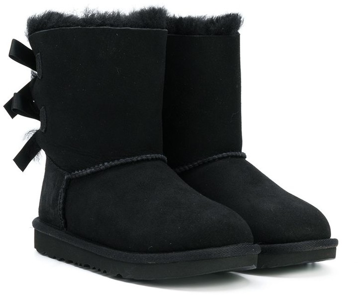 57e10857d3f shearling bow boots