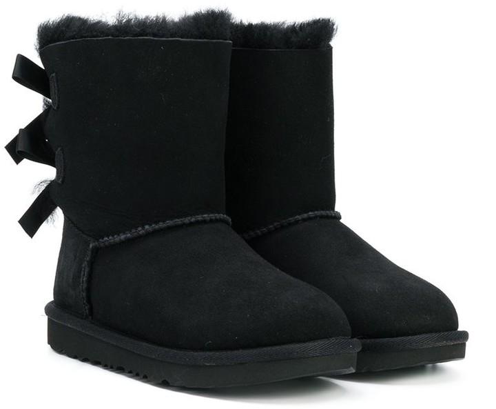 d2b7f779ec2 shearling bow boots