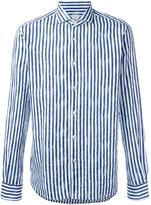 Xacus striped shirt - men - Cotton - 39