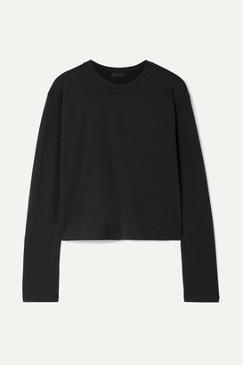 ATM Anthony Thomas Melillo Boy Cotton-jersey Top - Black