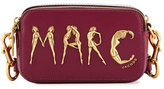 Marc Jacobs Snapshot Flashed Leather Camera Bag, Berry