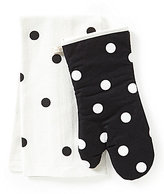 Kate Spade Polka Dot 2-Piece Kitchen Linens Set