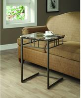 Monarch Specialties Cappuccino End Table