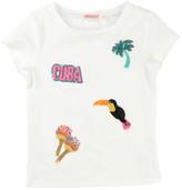 Billieblush Tropical Sequin T-Shirt
