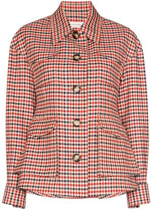 Wales Bonner checked jacket
