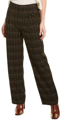 Vince Classic Plaid Trouser