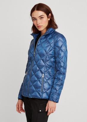 Ralph Lauren Quilted Mockneck Jacket