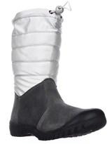 Sporto Ellie Mid Calf Snow Boots, Silver.